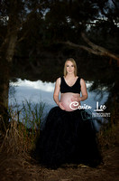 Maternity and newborn session for Emma and Troy Evans