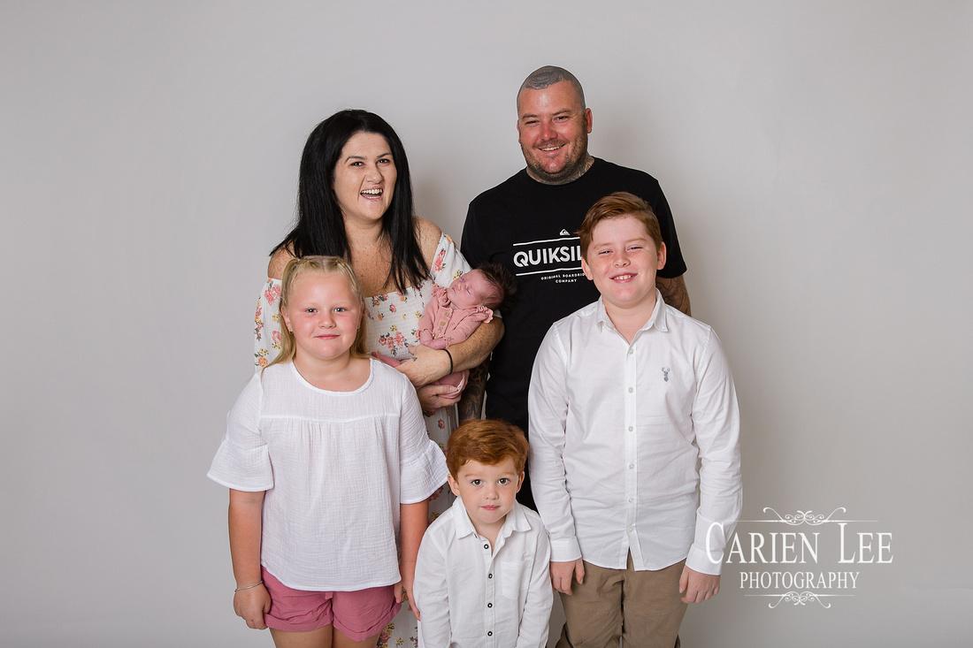 Draper Family Newborn Session TIA